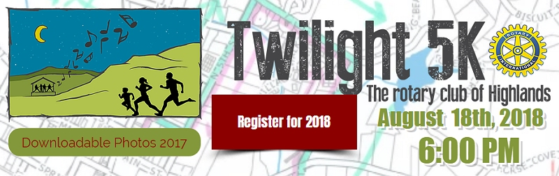 Click me! Highlands Twilight 5K 2018