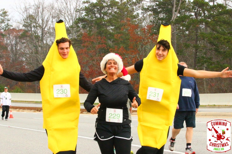 Click me! Cumming Christmas Jingle Jog 5K 2018