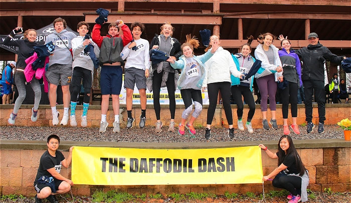 Click me! Daffodil Dash 5K & 1 Mile Run 2020